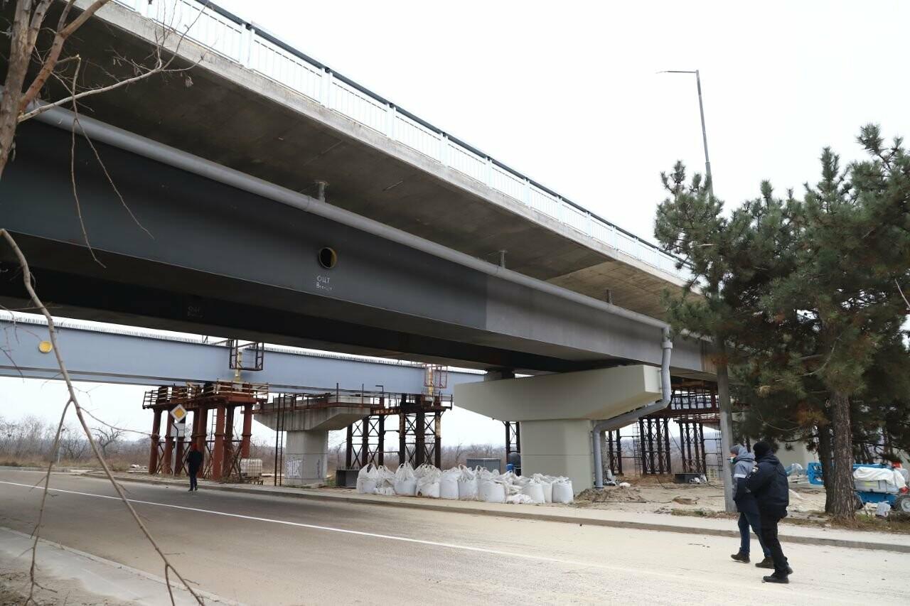 Зеленский в Запорожье проехал по новому мосту, - ФОТОРЕПОРТАЖ, фото-19