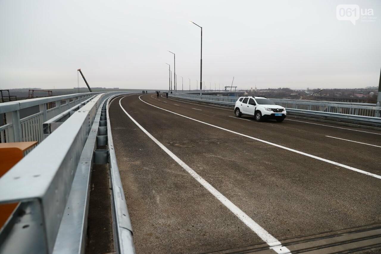 Зеленский в Запорожье проехал по новому мосту, - ФОТОРЕПОРТАЖ, фото-15