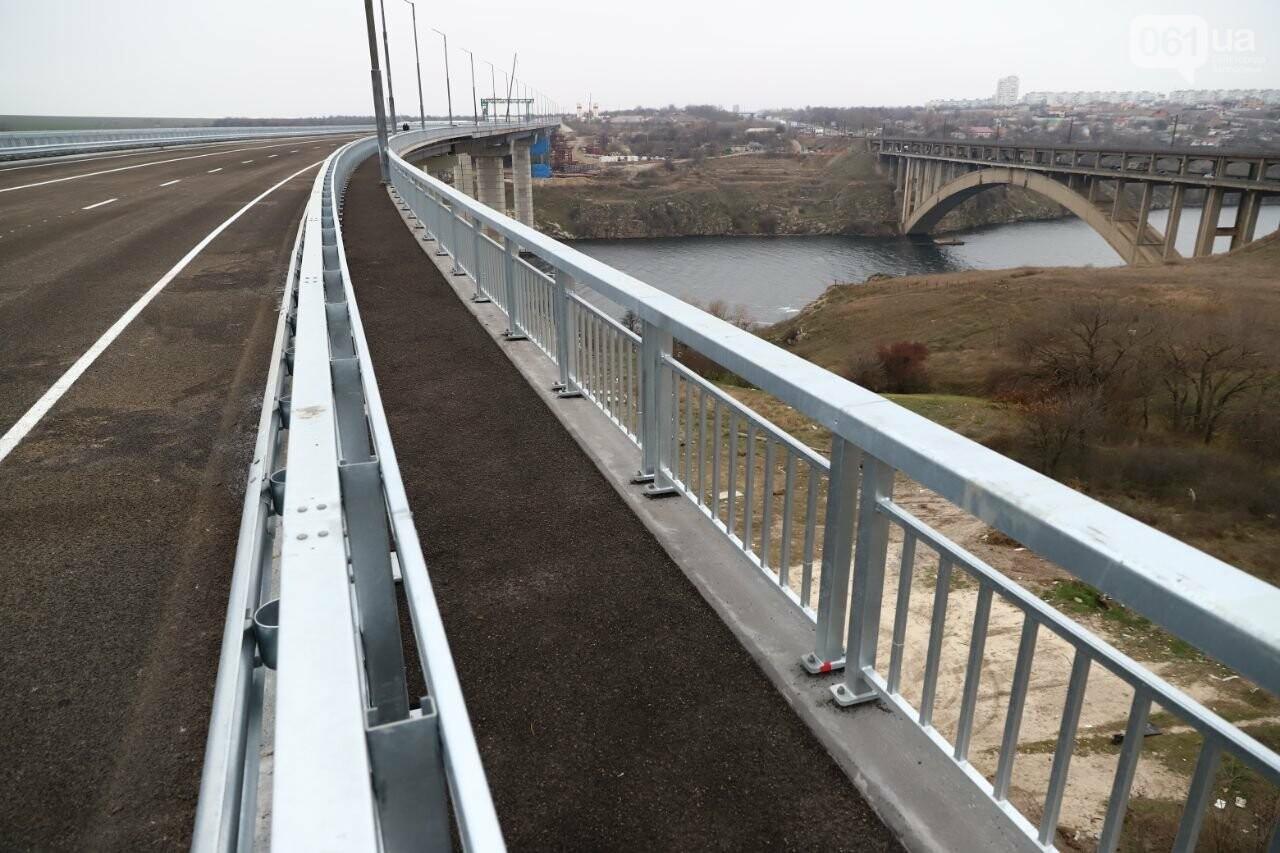 Зеленский в Запорожье проехал по новому мосту, - ФОТОРЕПОРТАЖ, фото-20