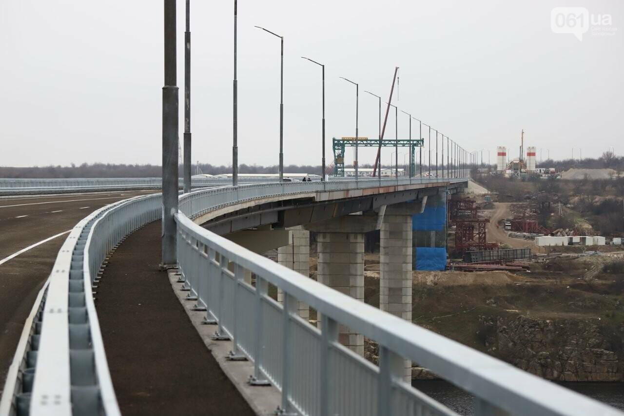 Зеленский в Запорожье проехал по новому мосту, - ФОТОРЕПОРТАЖ, фото-10