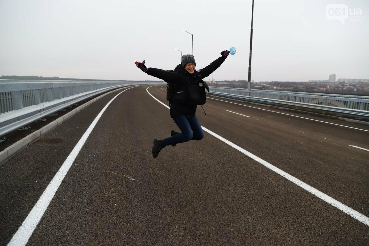 Зеленский в Запорожье проехал по новому мосту, - ФОТОРЕПОРТАЖ, фото-14