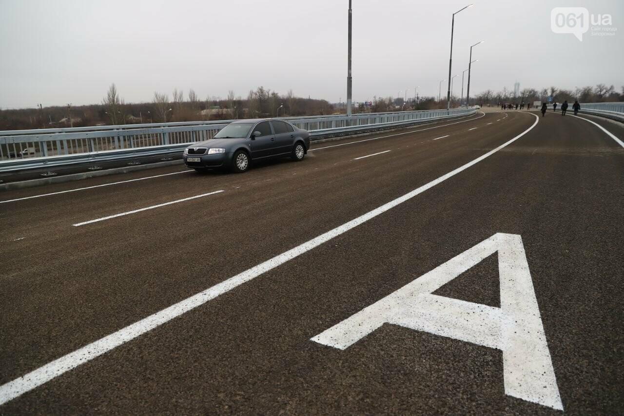Зеленский в Запорожье проехал по новому мосту, - ФОТОРЕПОРТАЖ, фото-9