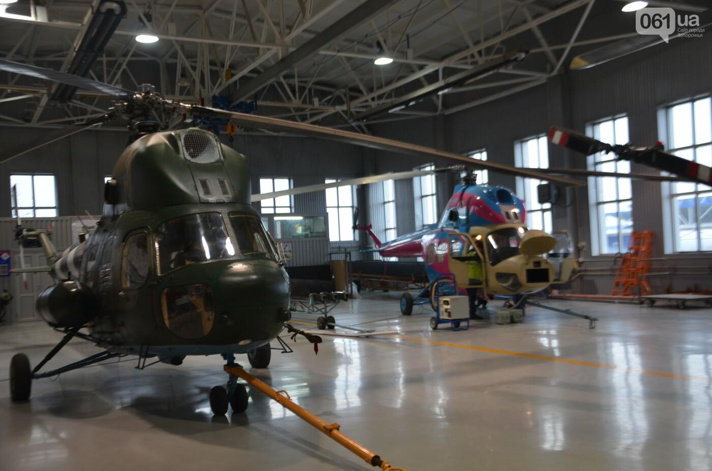В Запорожье прошли первые испытания новых лопастей для военных вертолетов, - ФОТО, фото-31