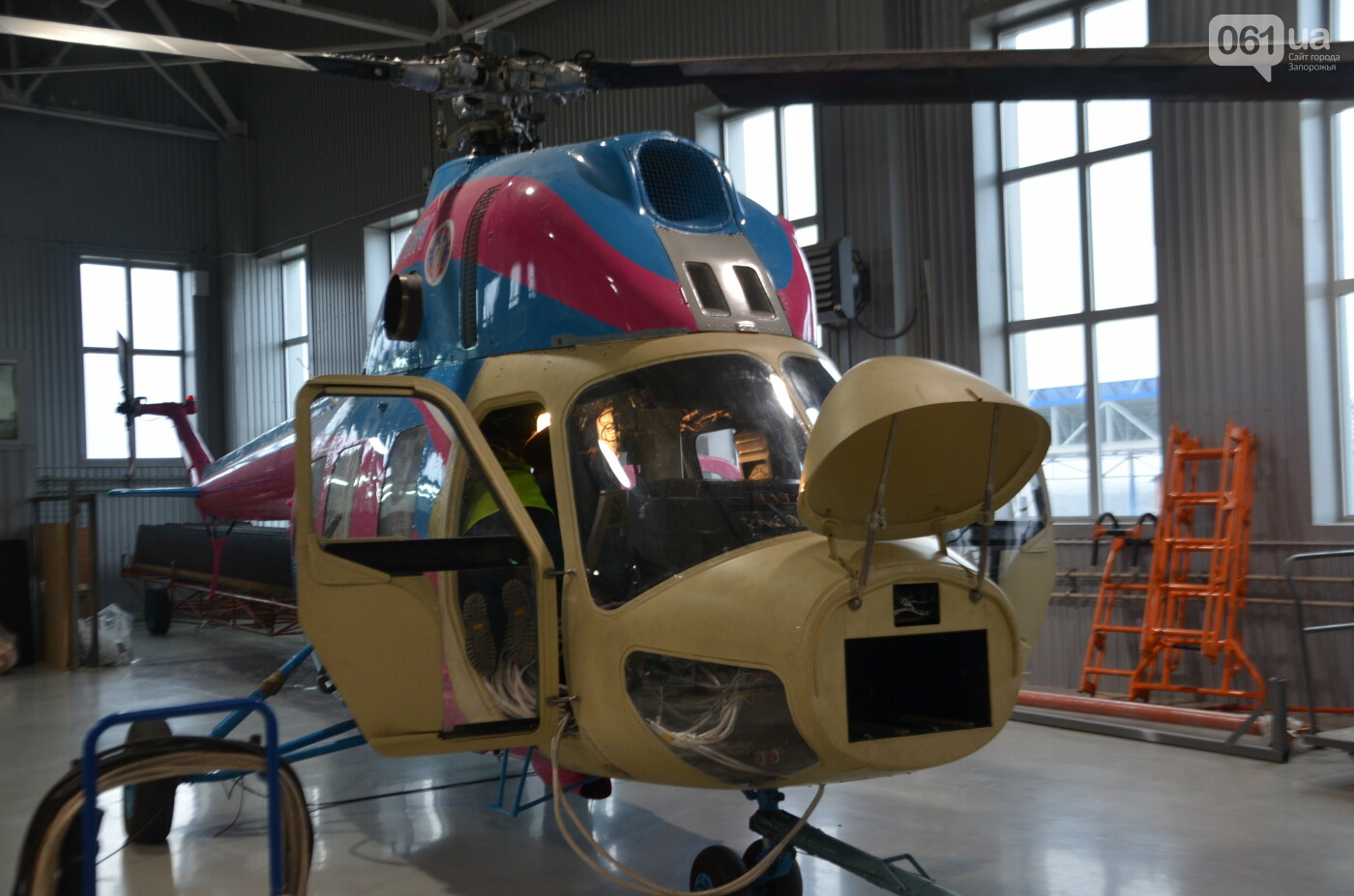 В Запорожье прошли первые испытания новых лопастей для военных вертолетов, - ФОТО, фото-34