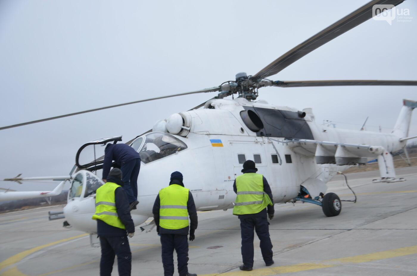 В Запорожье прошли первые испытания новых лопастей для военных вертолетов, - ФОТО, фото-9