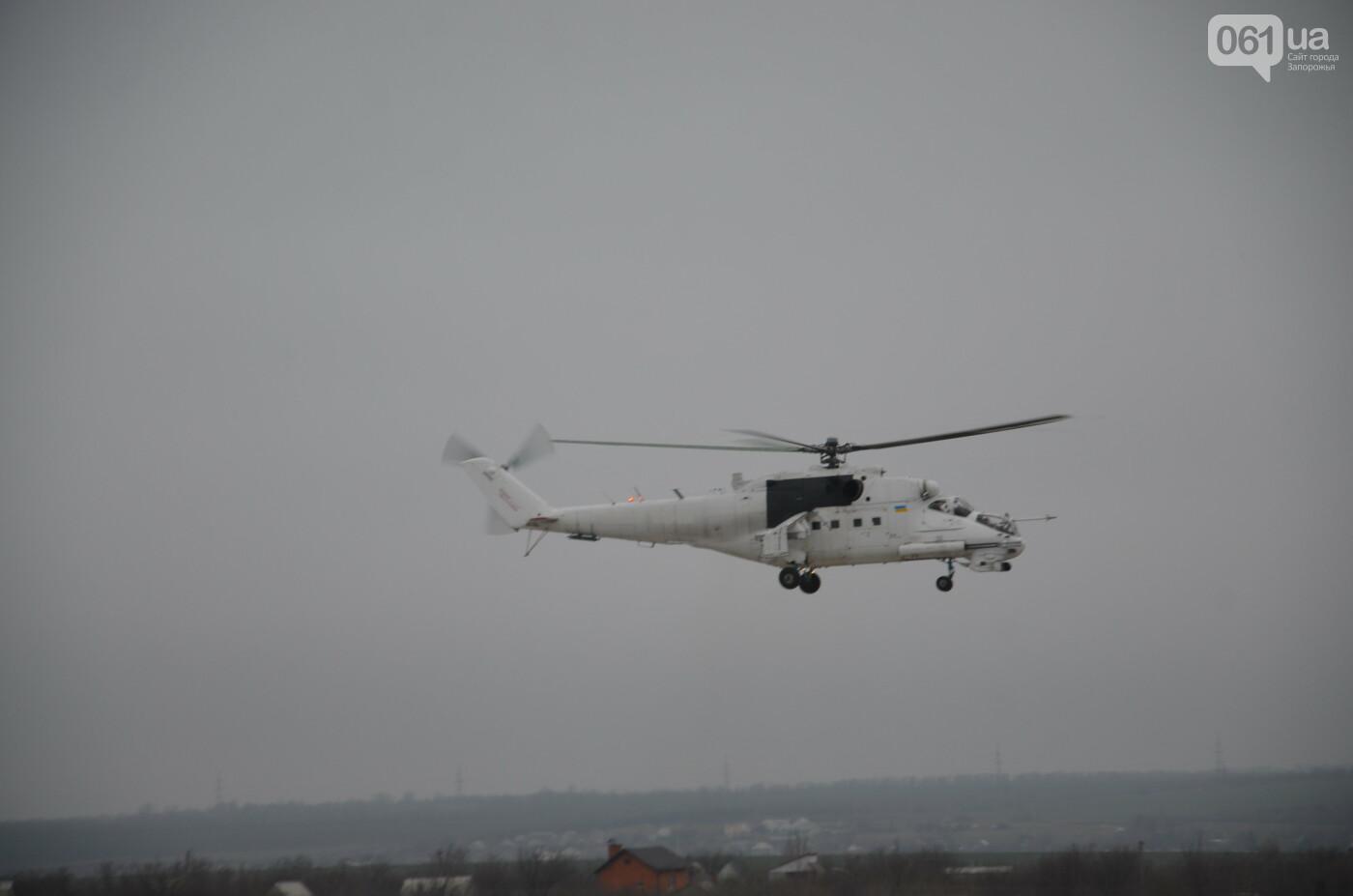 В Запорожье прошли первые испытания новых лопастей для военных вертолетов, - ФОТО, фото-13