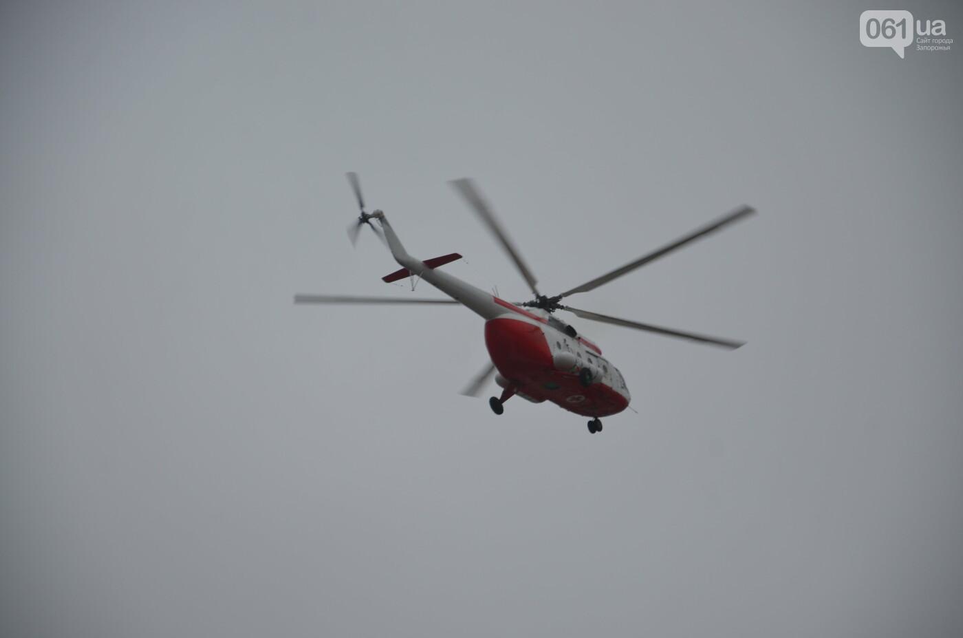 В Запорожье прошли первые испытания новых лопастей для военных вертолетов, - ФОТО, фото-21