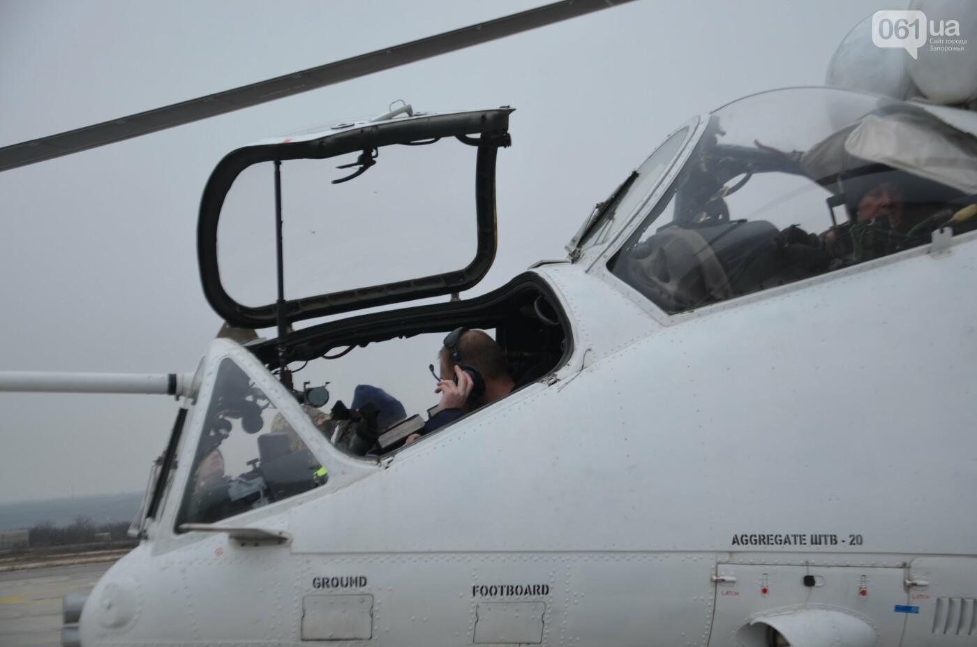 В Запорожье прошли первые испытания новых лопастей для военных вертолетов, - ФОТО, фото-27