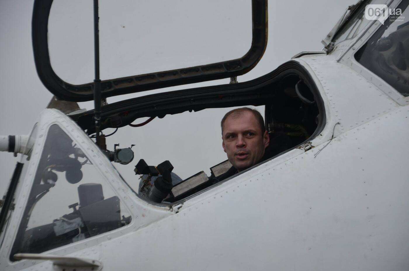 В Запорожье прошли первые испытания новых лопастей для военных вертолетов, - ФОТО, фото-28