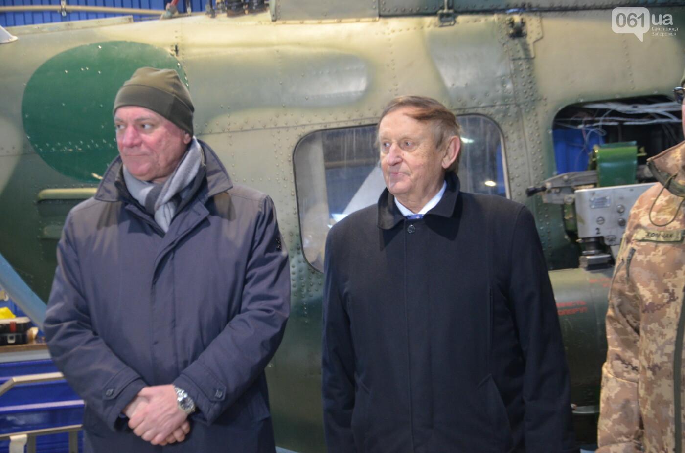 В Запорожье прошли первые испытания новых лопастей для военных вертолетов, - ФОТО, фото-6