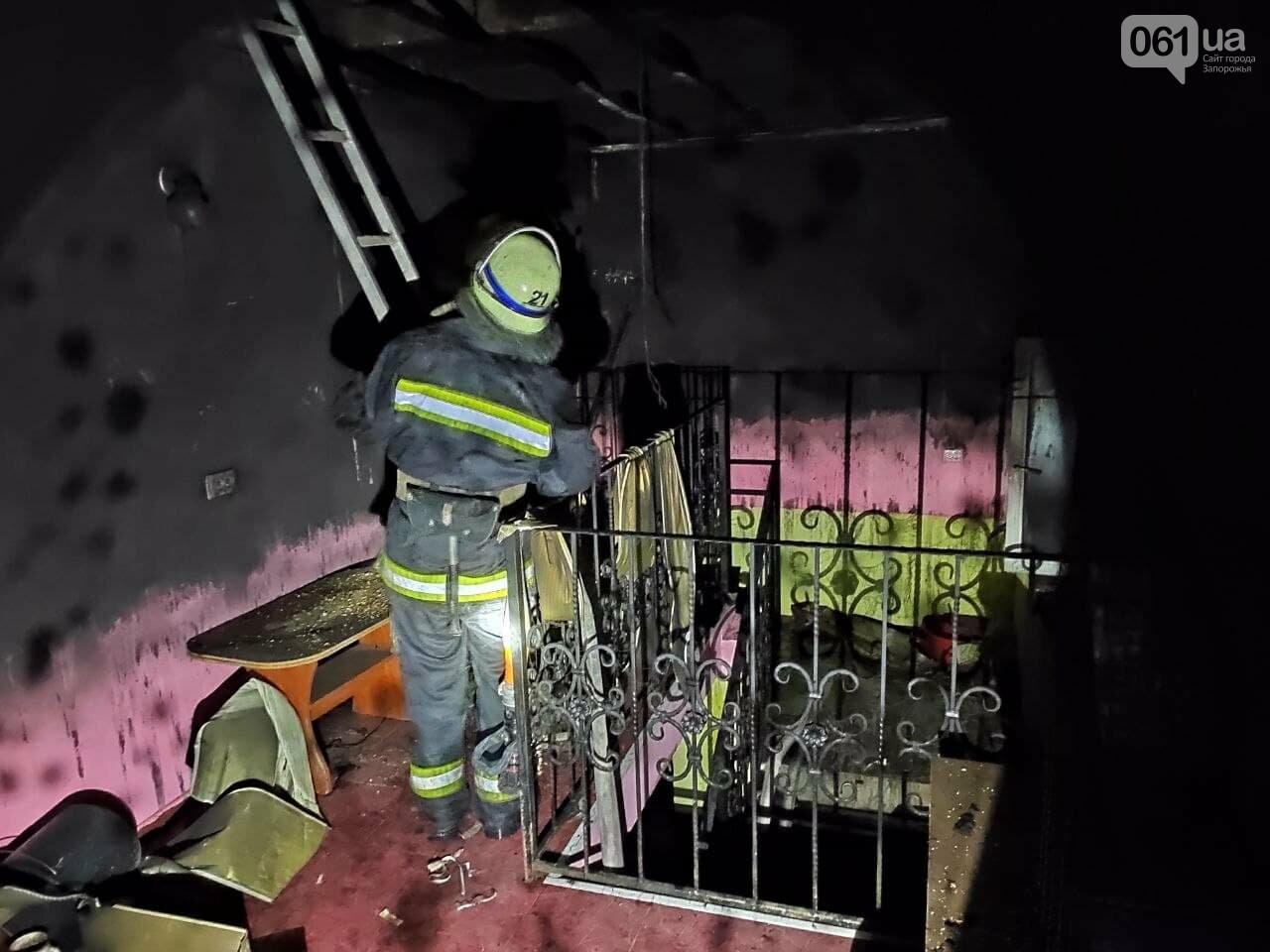 Под Запорожьем пожарные спасли мужчину, который едва не погиб из-за неосторожного обращения с огнем, фото-1