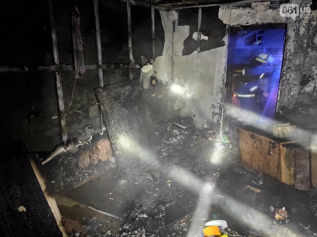 Под Запорожьем пожарные спасли мужчину, который едва не погиб из-за неосторожного обращения с огнем, фото-3