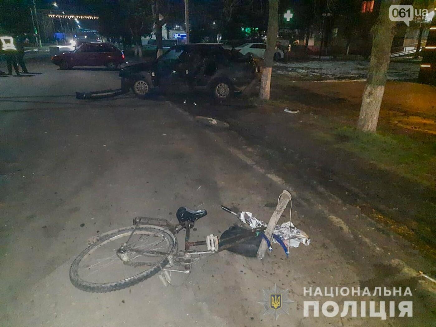 В Запорожской области пьяный водитель ВАЗа насмерть сбил велосипедистку, фото-1