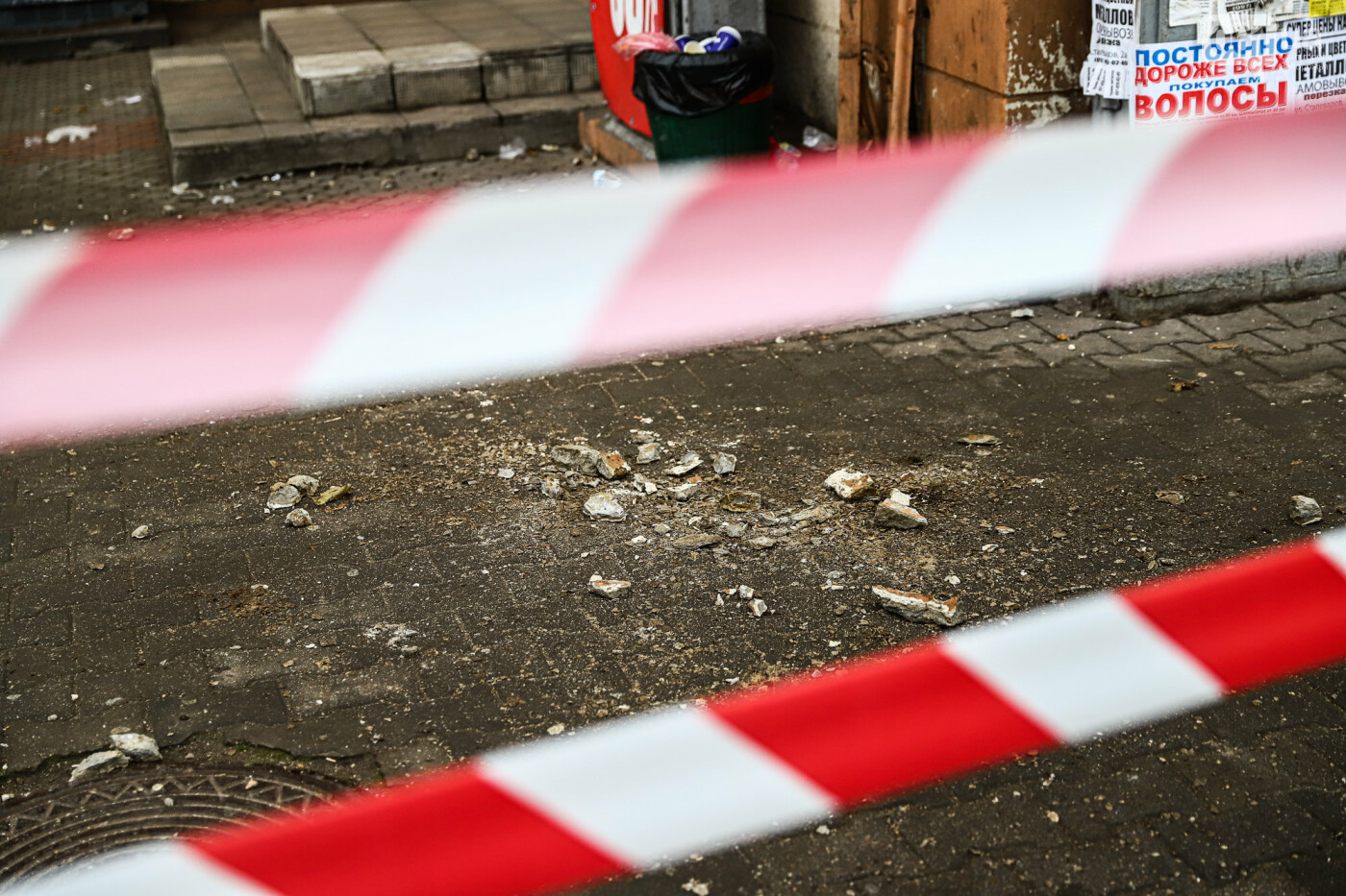 В Запорожье с балкона дома-памятника архитектуры отвалилась часть бетонного кронштейна, - ФОТО , фото-4