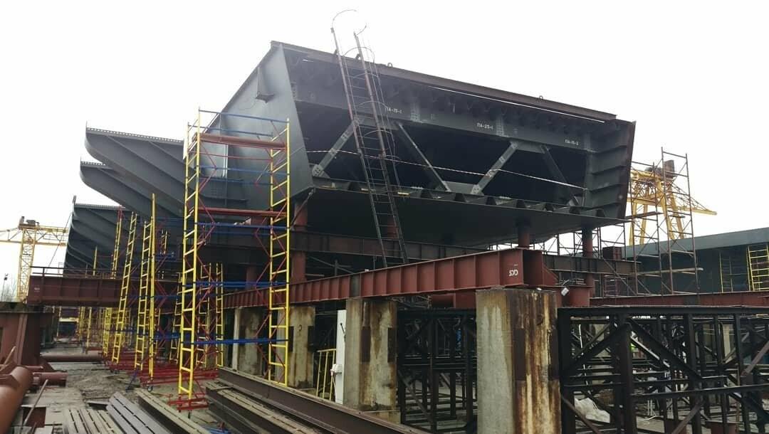 В январе планируют смонтировать первую секцию вантового моста в Запорожье - инфраструктурный обозреватель  , фото-1