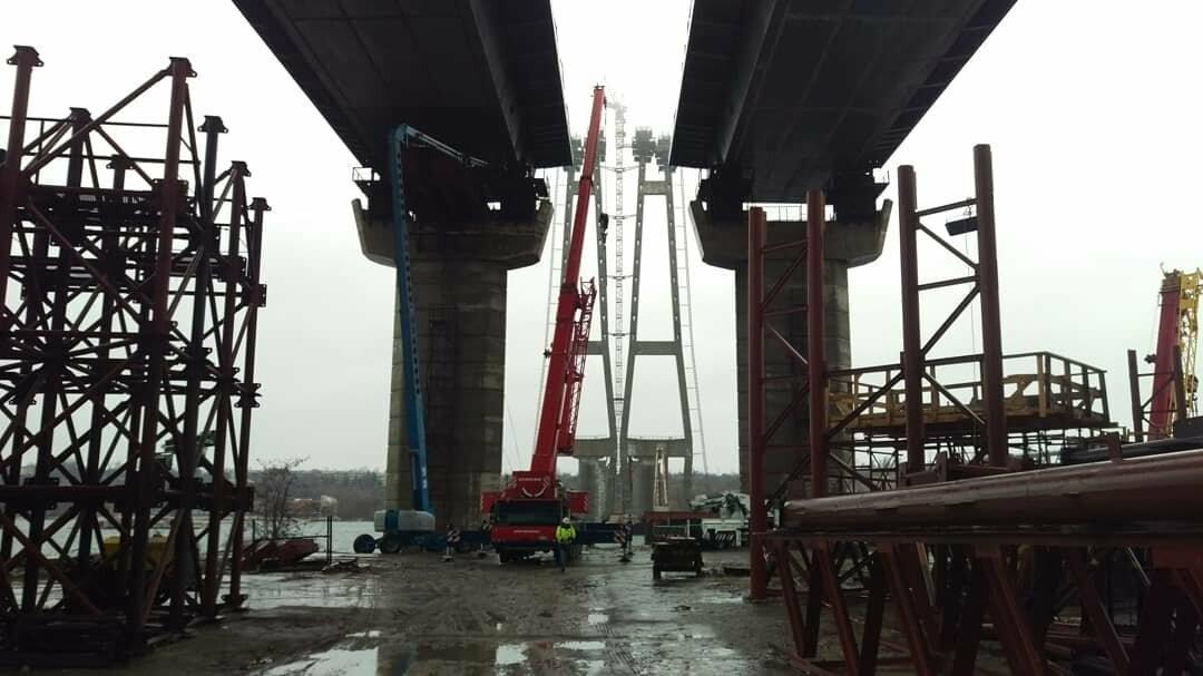 В январе планируют смонтировать первую секцию вантового моста в Запорожье - инфраструктурный обозреватель  , фото-6