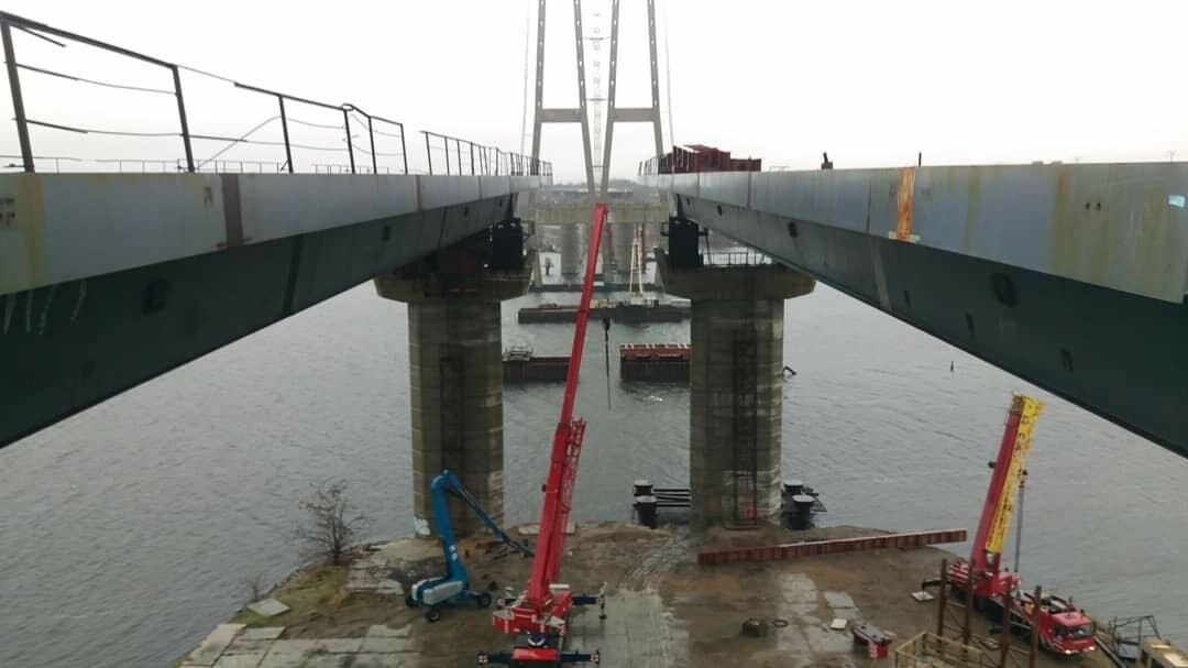 В январе планируют смонтировать первую секцию вантового моста в Запорожье - инфраструктурный обозреватель  , фото-5