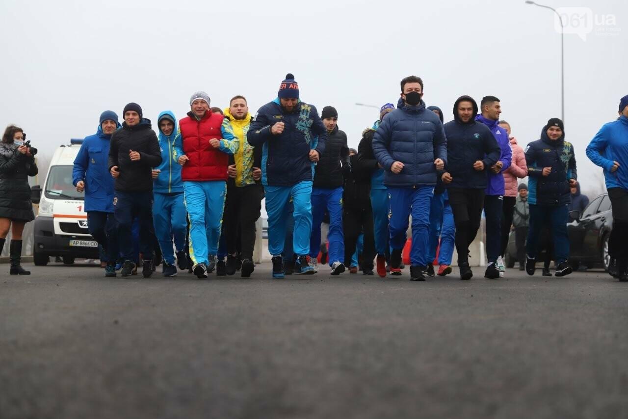 Запорожский губернатор вывел на пробежку спортсменов и депутатов, - ФОТОРЕПОРТАЖ, фото-3
