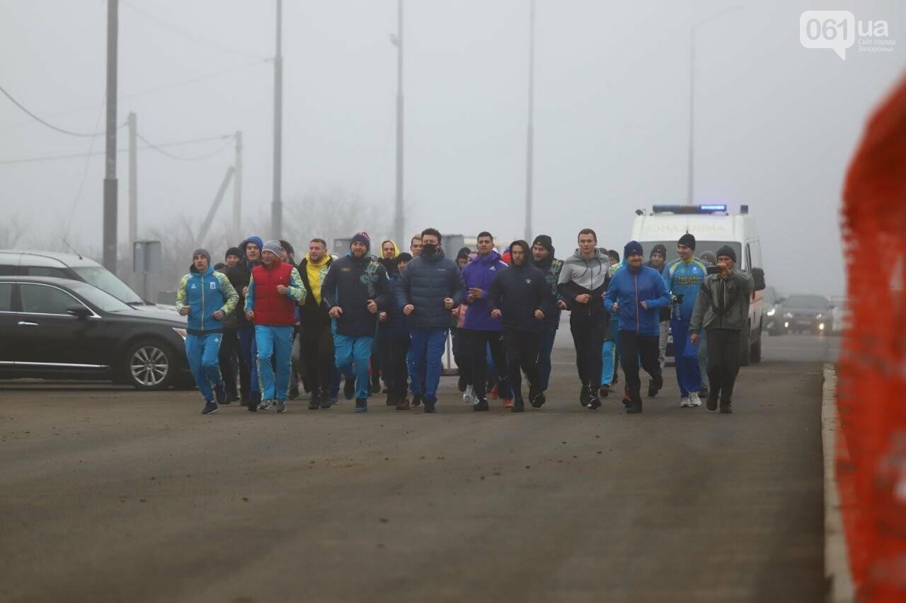 Запорожский губернатор вывел на пробежку спортсменов и депутатов, - ФОТОРЕПОРТАЖ, фото-4