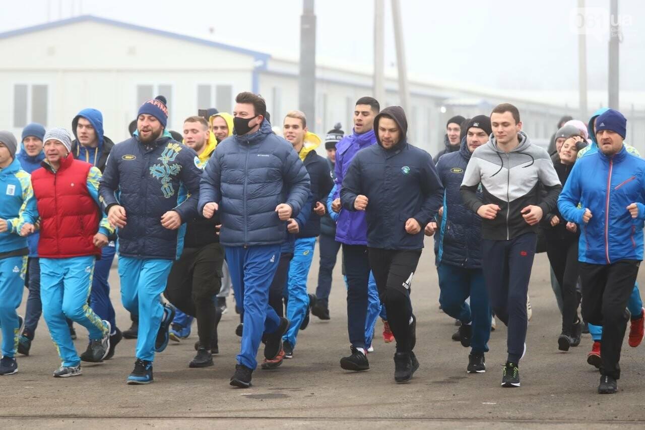 Запорожский губернатор вывел на пробежку спортсменов и депутатов, - ФОТОРЕПОРТАЖ, фото-5