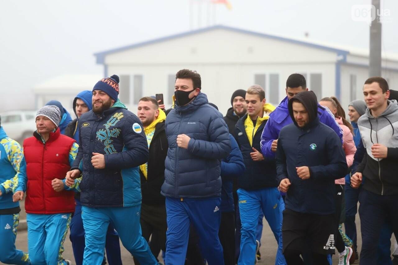 Запорожский губернатор вывел на пробежку спортсменов и депутатов, - ФОТОРЕПОРТАЖ, фото-6