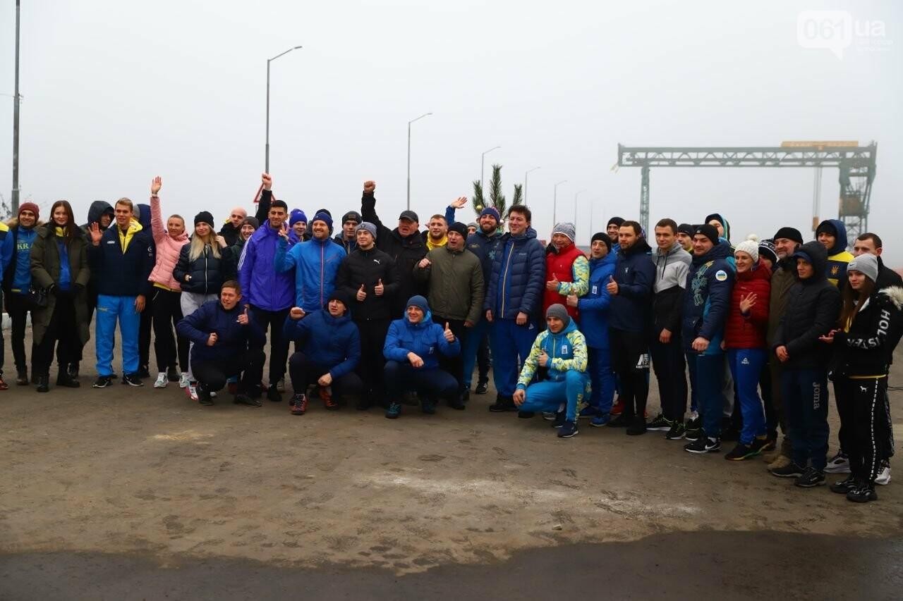 Запорожский губернатор вывел на пробежку спортсменов и депутатов, - ФОТОРЕПОРТАЖ, фото-12