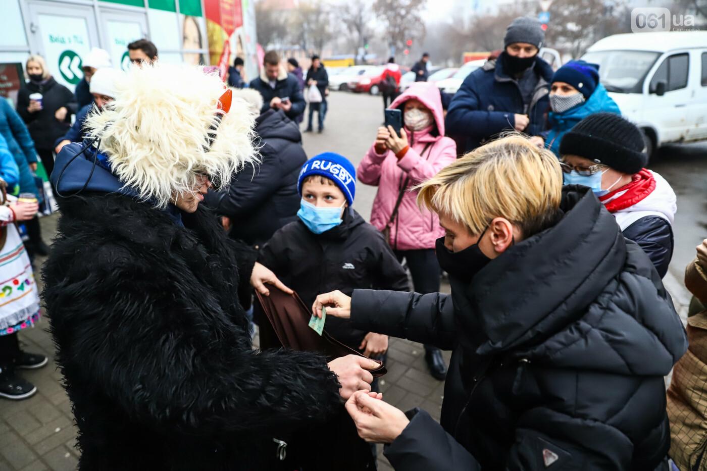 Нечистая сила против казаков: на улицах Запорожья показывали Рождественский вертеп, - ФОТО, ВИДЕО  , фото-29