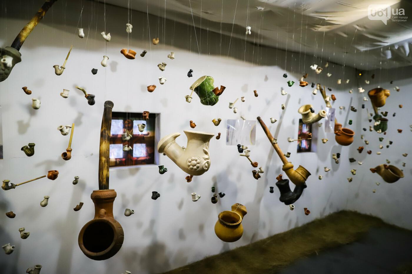 На Запорожской Сечи пополнилась уникальная коллекция казацких люлек: что курили казаки и о чем может рассказать трубка, фото-3