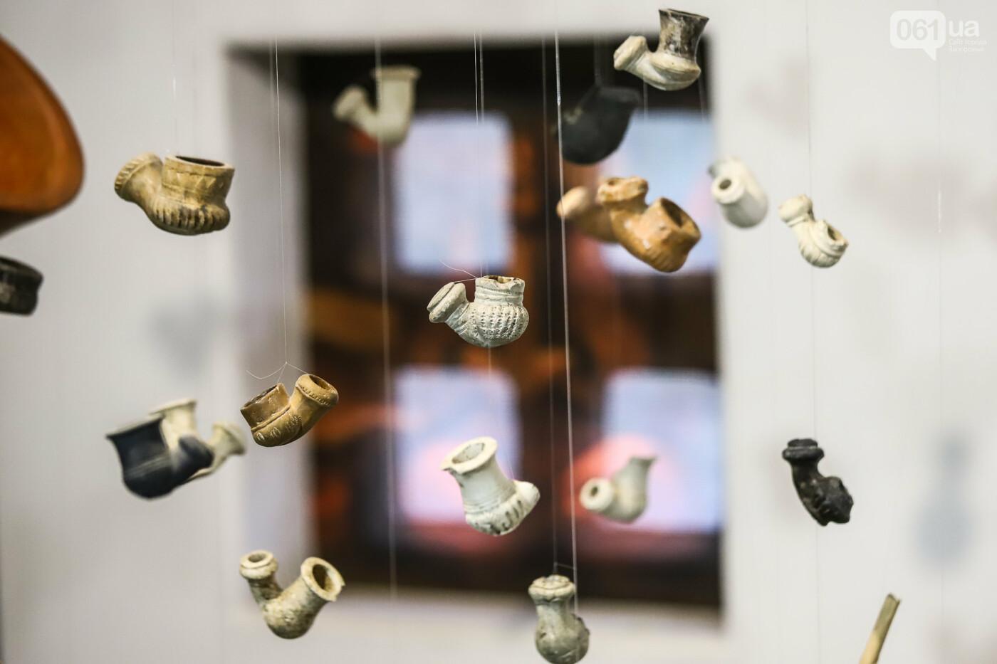 На Запорожской Сечи пополнилась уникальная коллекция казацких люлек: что курили казаки и о чем может рассказать трубка, фото-8