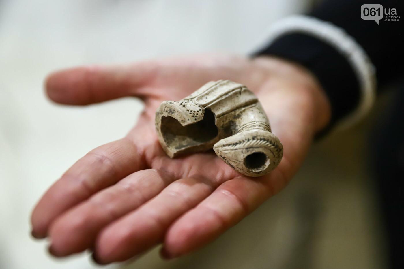 На Запорожской Сечи пополнилась уникальная коллекция казацких люлек: что курили казаки и о чем может рассказать трубка, фото-15