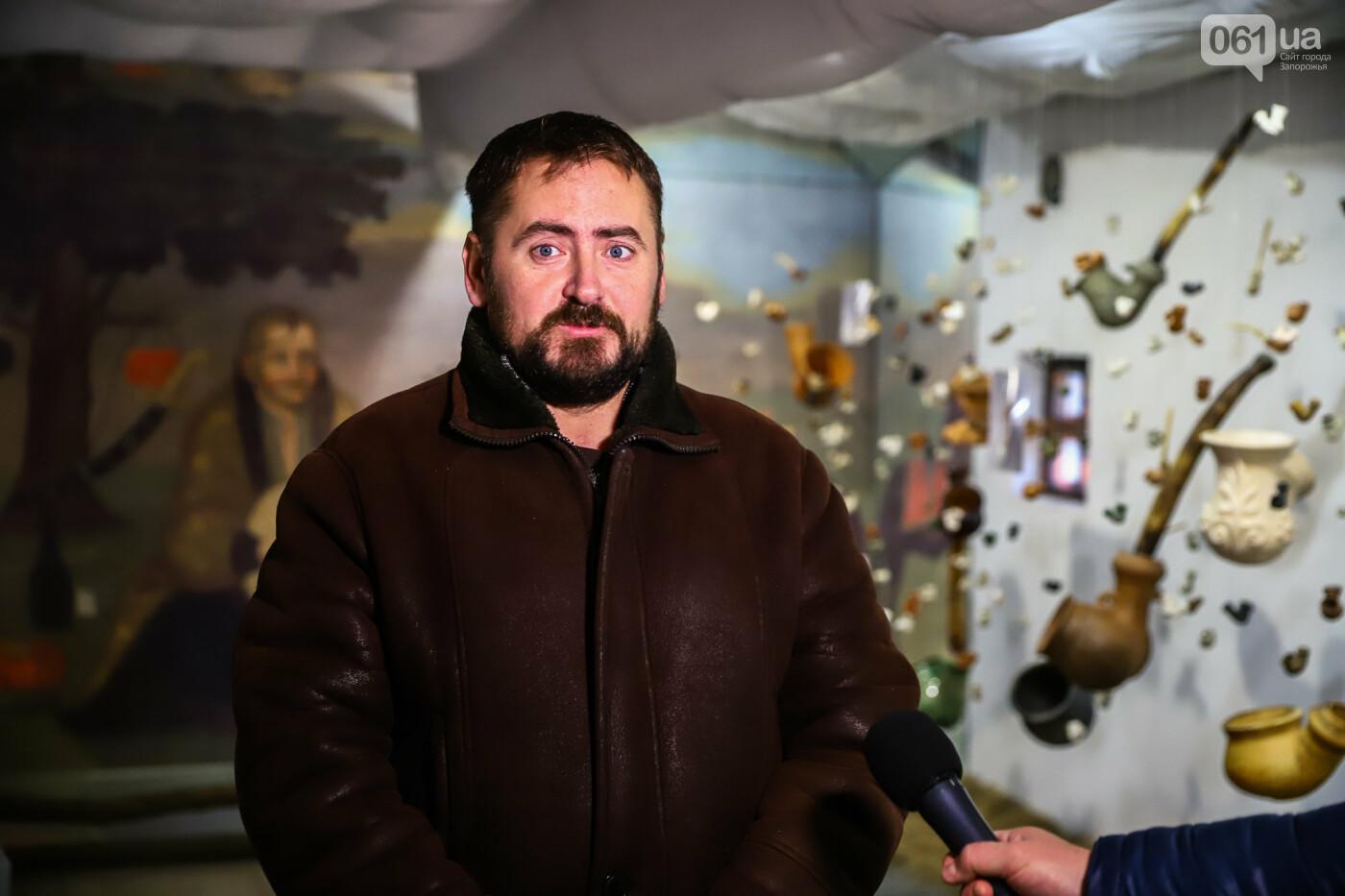 На Запорожской Сечи пополнилась уникальная коллекция казацких люлек: что курили казаки и о чем может рассказать трубка, фото-1