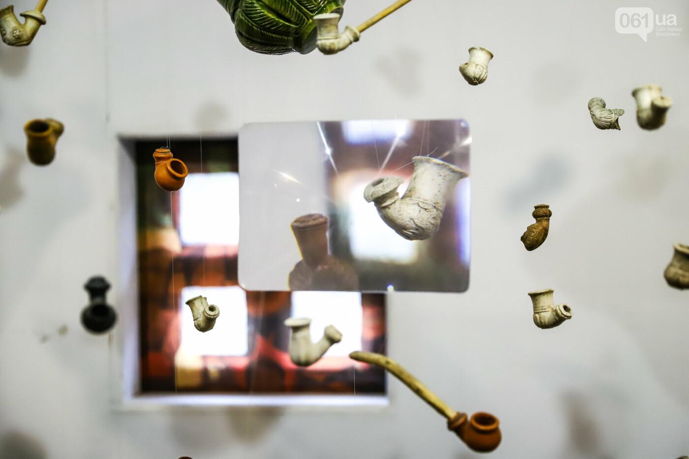 На Запорожской Сечи пополнилась уникальная коллекция казацких люлек: что курили казаки и о чем может рассказать трубка, фото-9