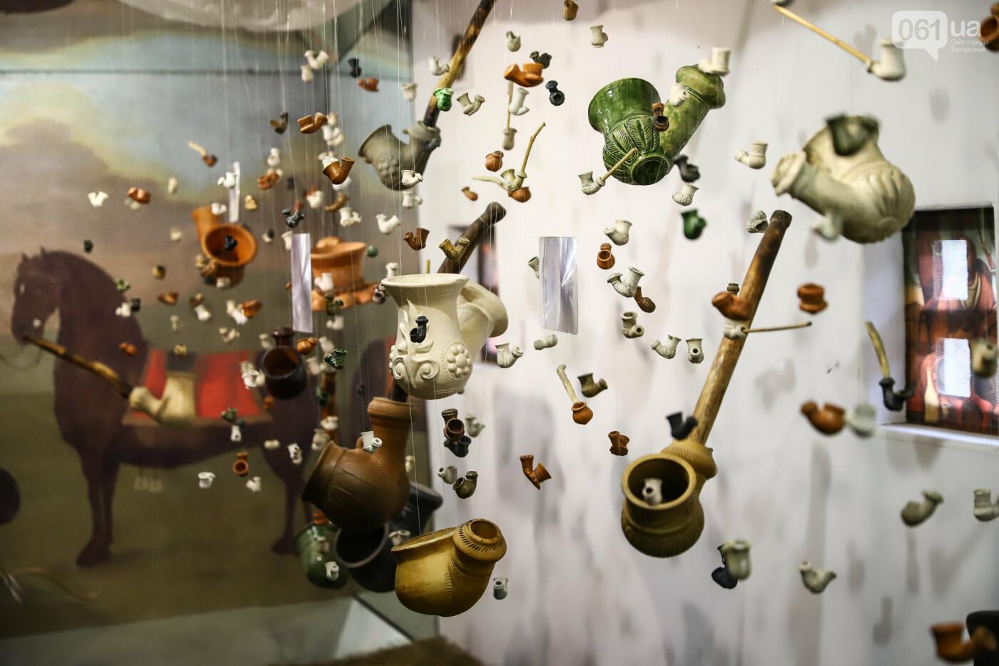 На Запорожской Сечи пополнилась уникальная коллекция казацких люлек: что курили казаки и о чем может рассказать трубка, фото-18
