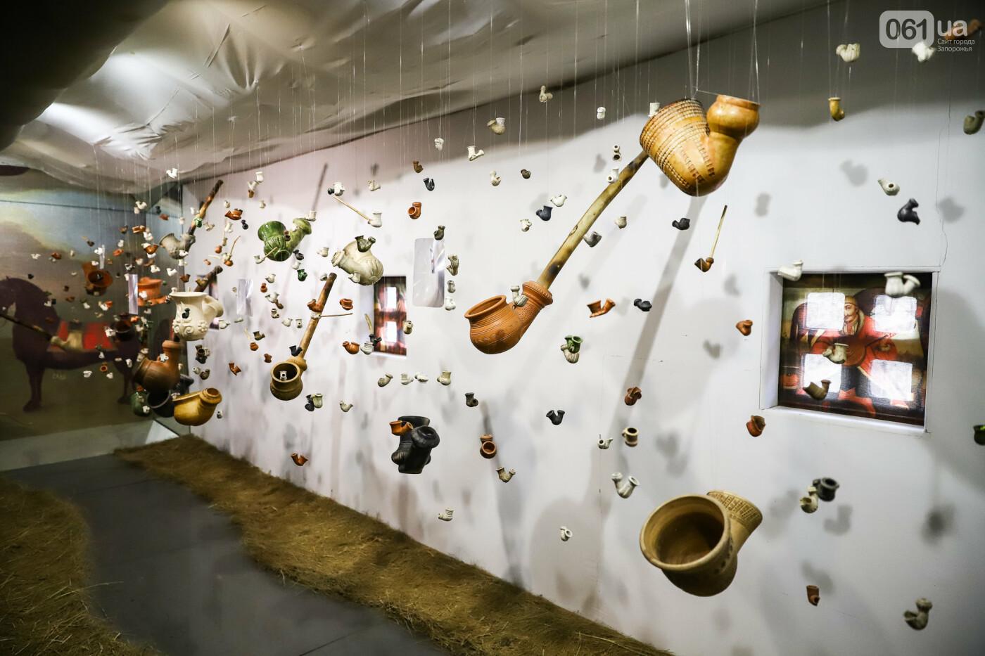 На Запорожской Сечи пополнилась уникальная коллекция казацких люлек: что курили казаки и о чем может рассказать трубка, фото-17