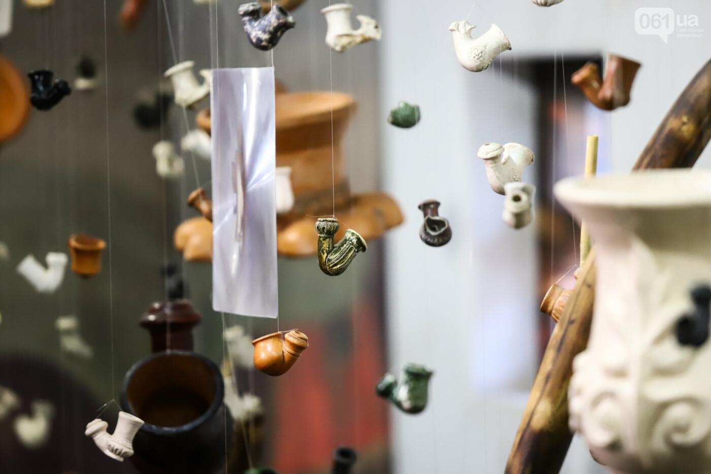 На Запорожской Сечи пополнилась уникальная коллекция казацких люлек: что курили казаки и о чем может рассказать трубка, фото-19