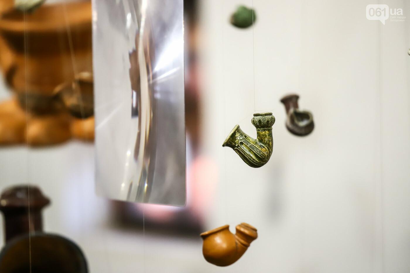 На Запорожской Сечи пополнилась уникальная коллекция казацких люлек: что курили казаки и о чем может рассказать трубка, фото-23