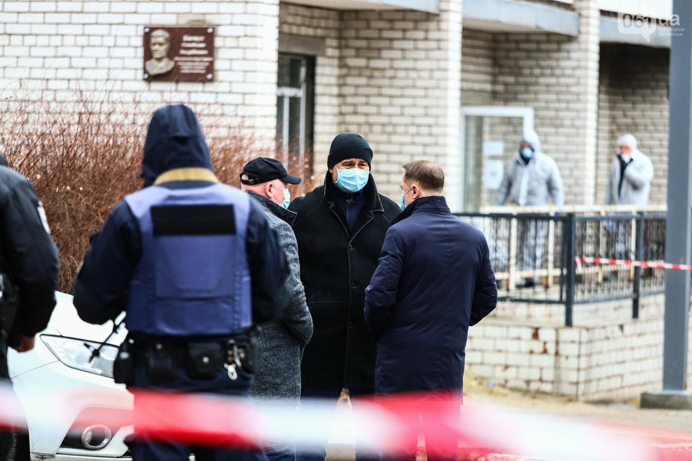 Пожар в Запорожской инфекционной больнице: все подробности происшествия, - ФОТОРЕПОРТАЖ , фото-20