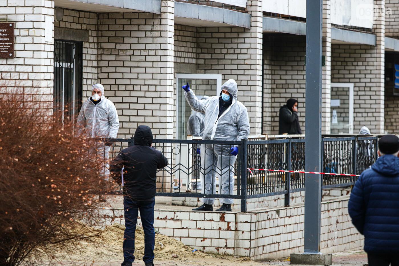 Пожар в Запорожской инфекционной больнице: все подробности происшествия, - ФОТОРЕПОРТАЖ , фото-27