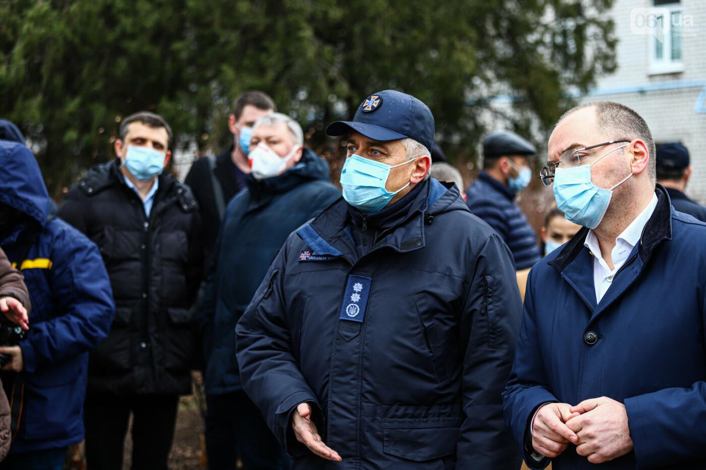 Пожар в Запорожской инфекционной больнице: все подробности происшествия, - ФОТОРЕПОРТАЖ , фото-36