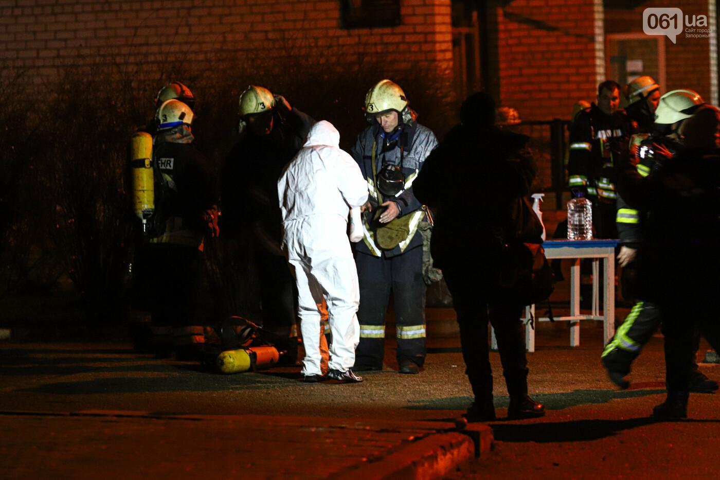 Пожар в Запорожской инфекционной больнице: все подробности происшествия, - ФОТОРЕПОРТАЖ , фото-7