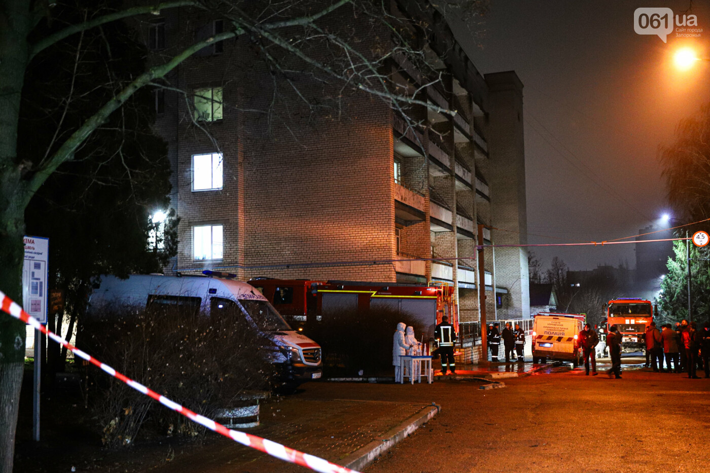 Пожар в Запорожской инфекционной больнице: все подробности происшествия, - ФОТОРЕПОРТАЖ , фото-9