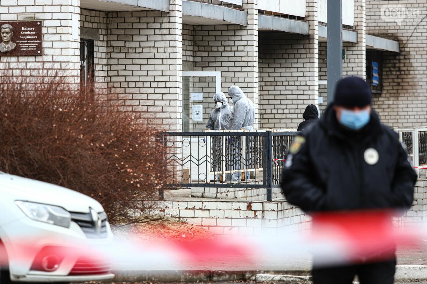 Пожар в Запорожской инфекционной больнице: все подробности происшествия, - ФОТОРЕПОРТАЖ , фото-19