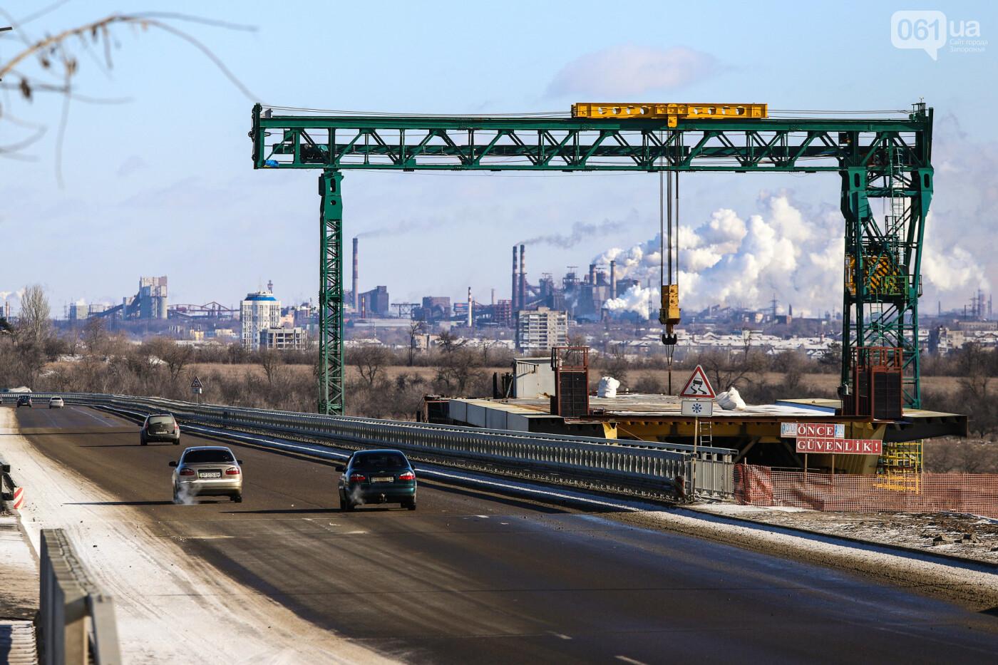 Кран с иностранной пропиской, ванты и металл: строительство запорожских мостов в фотографиях, фото-30