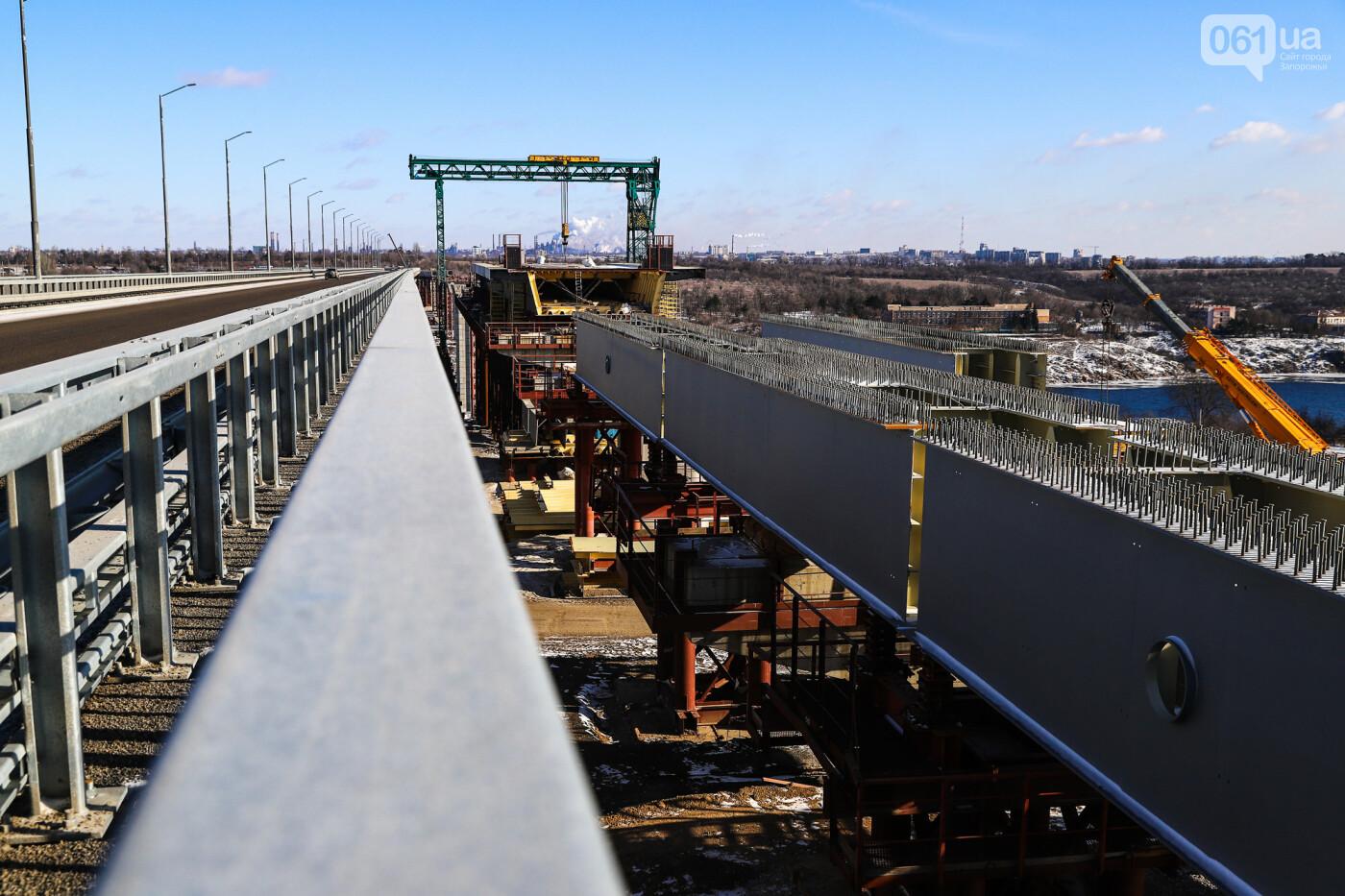 Кран с иностранной пропиской, ванты и металл: строительство запорожских мостов в фотографиях, фото-29