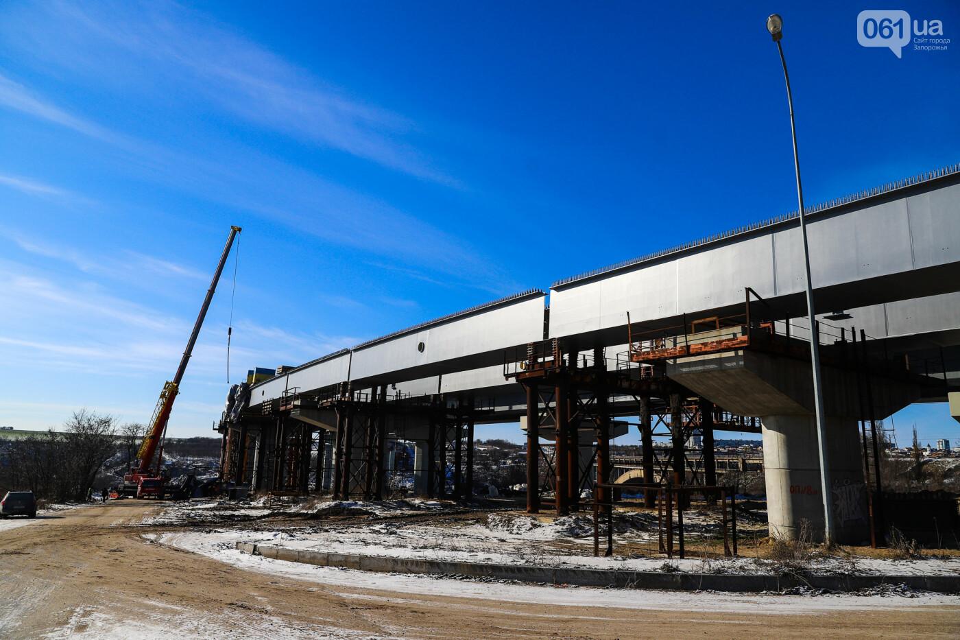 Кран с иностранной пропиской, ванты и металл: строительство запорожских мостов в фотографиях, фото-31