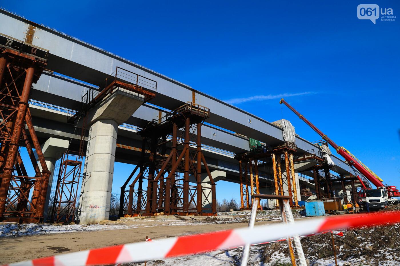 Кран с иностранной пропиской, ванты и металл: строительство запорожских мостов в фотографиях, фото-36