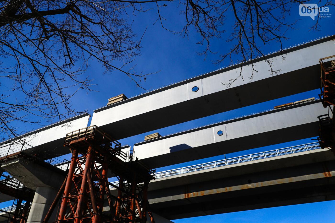Кран с иностранной пропиской, ванты и металл: строительство запорожских мостов в фотографиях, фото-37