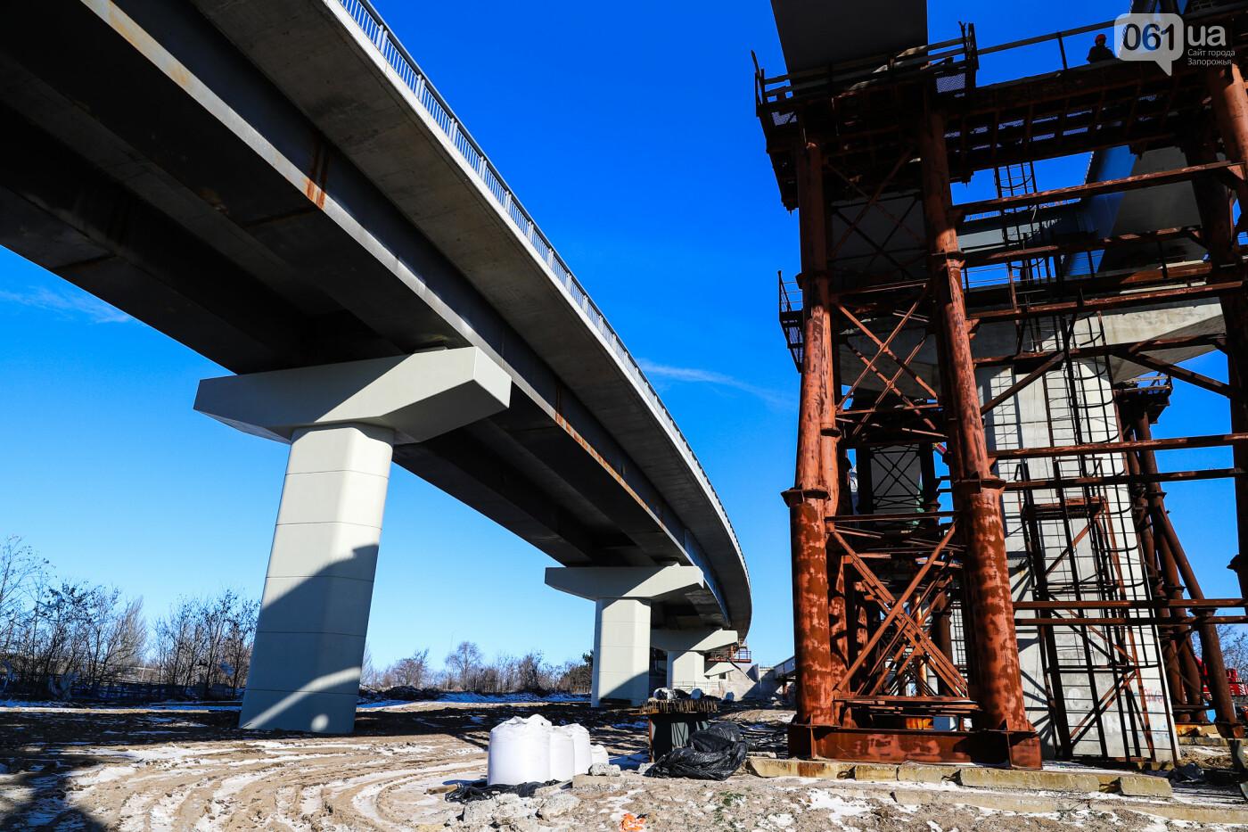 Кран с иностранной пропиской, ванты и металл: строительство запорожских мостов в фотографиях, фото-39
