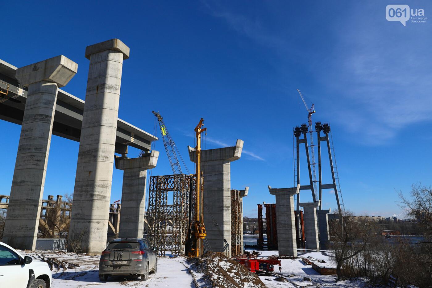 Кран с иностранной пропиской, ванты и металл: строительство запорожских мостов в фотографиях, фото-40