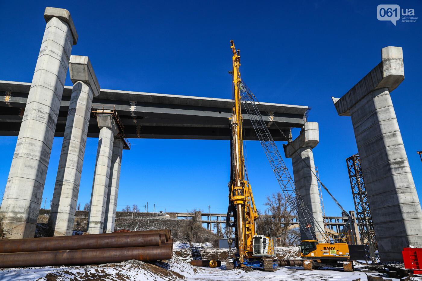 Кран с иностранной пропиской, ванты и металл: строительство запорожских мостов в фотографиях, фото-43